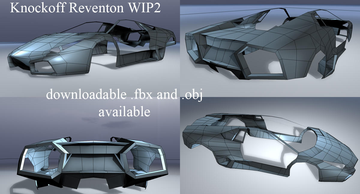 Knockoff Reventon WIP2 by ragingpixels