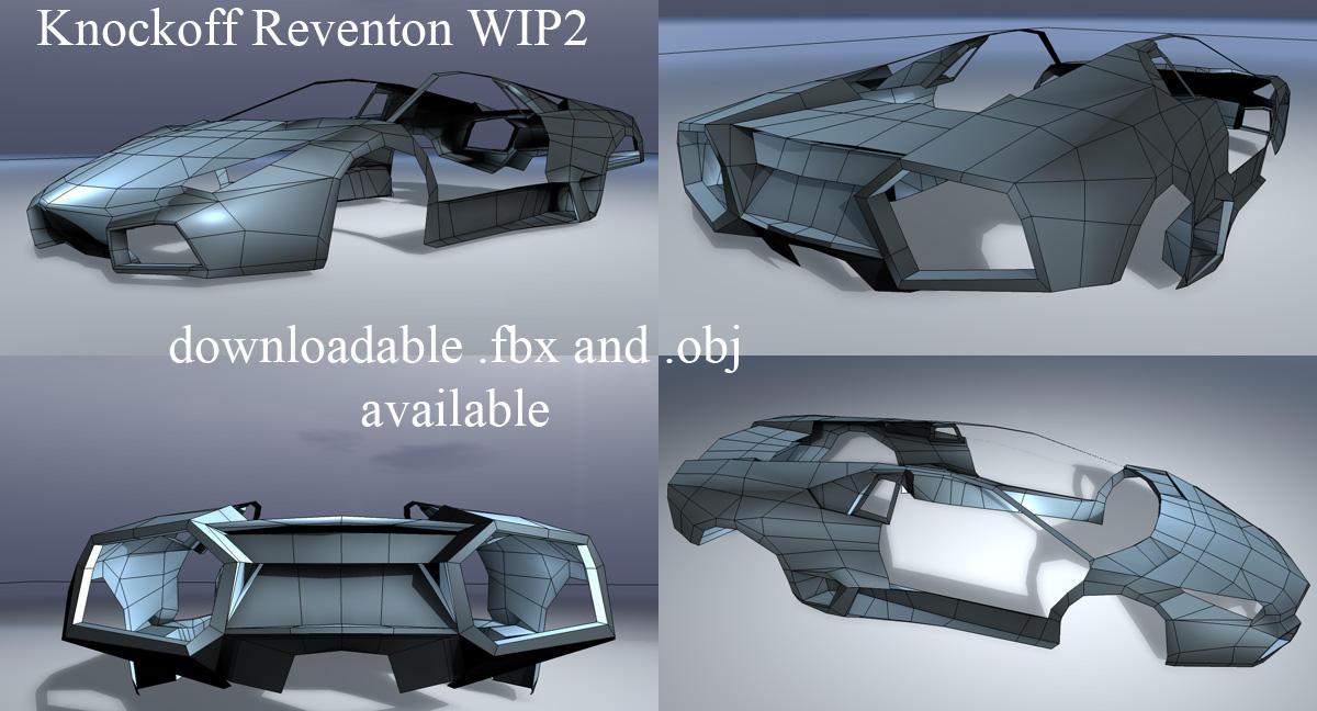 Knockoff Reventon WIP2 by ragingpixels