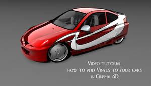 Adding Vinyls to cars in C4D