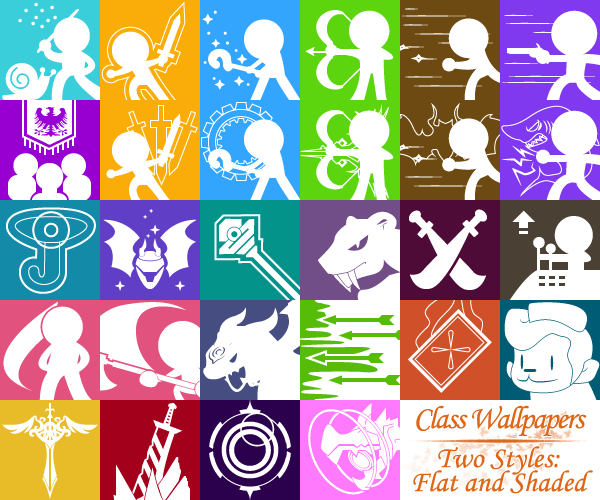MapleStory Class Wallpapers by TaerkEX