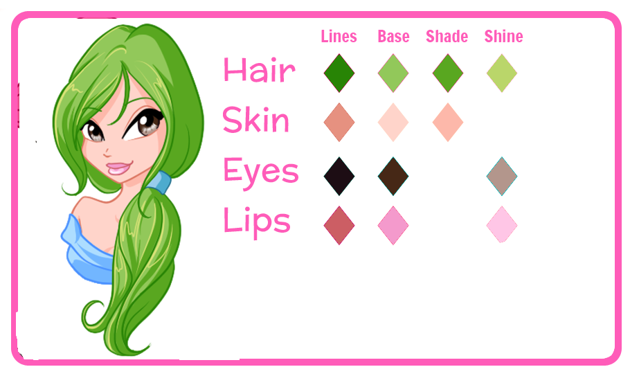 Rosemary Palette by RebelWinxGirl