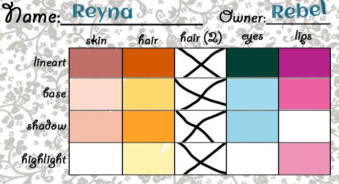 Reyna Palette by RebelWinxGirl