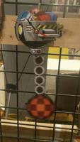 Dr. Robotnik pendulum clock
