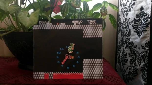 Super Mario Bros. Bowser Underworld clock