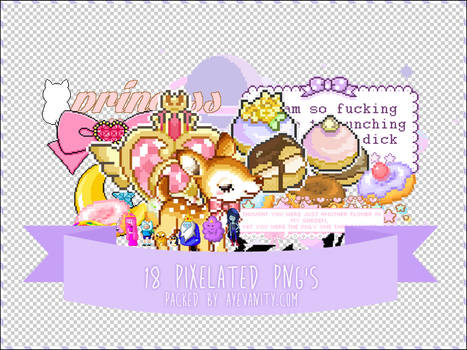 Pixelated PNGs