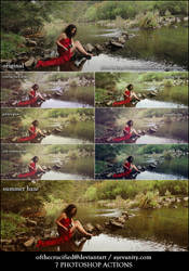 7 Photoshop Actions