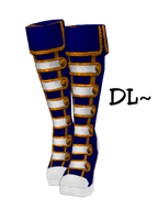 {MMD} Steampunk Boots DL by Drindrence