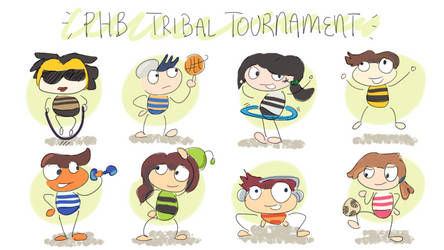 Poptropica: PHB Tribe Reps Working Out (Animated)