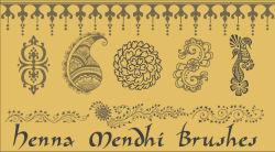 Henna Mendhi PSP 7 Brush Set