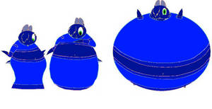 Princess Maydine Blueberry Inflation