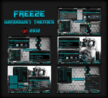 FREEZE WINDOWS7 THEMES BY HELL-X by HELL-X-HELL