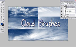 Cloud Brushes by LenaSkates