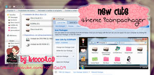 new cute theme iconpackager by k1000a09