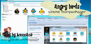 angry birds theme iconpackager by k1000a09