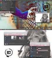 theme PRE BLACK PINK LOVE (modificado) by me by k1000adesign