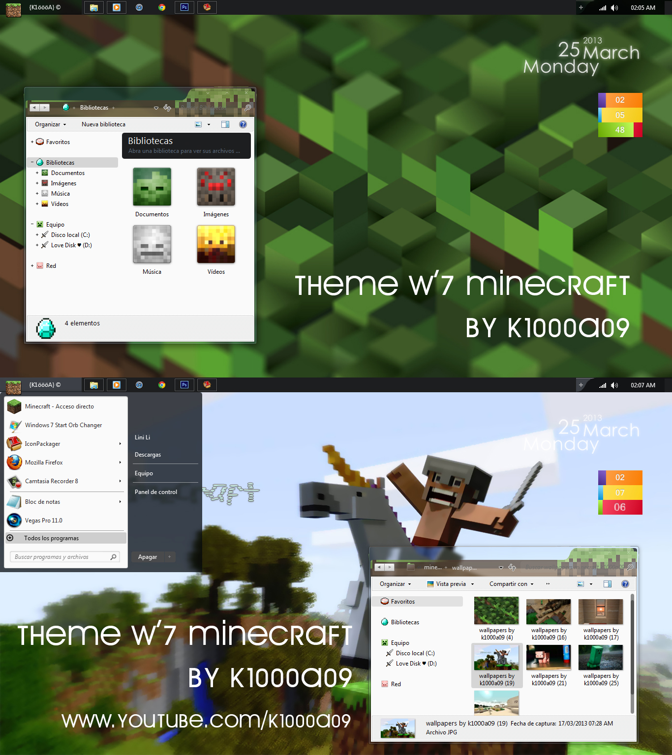 1000 skin for windows media:
