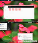 Theme Clear Pink By K1000a09