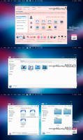 Blue Cool (k1000a09) theme iconpackager