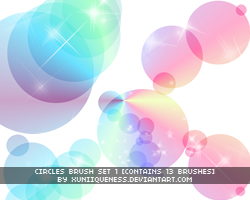 Circle Brushes 1 by xUniiqueness