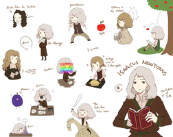 Isaac newton by king-of-plums