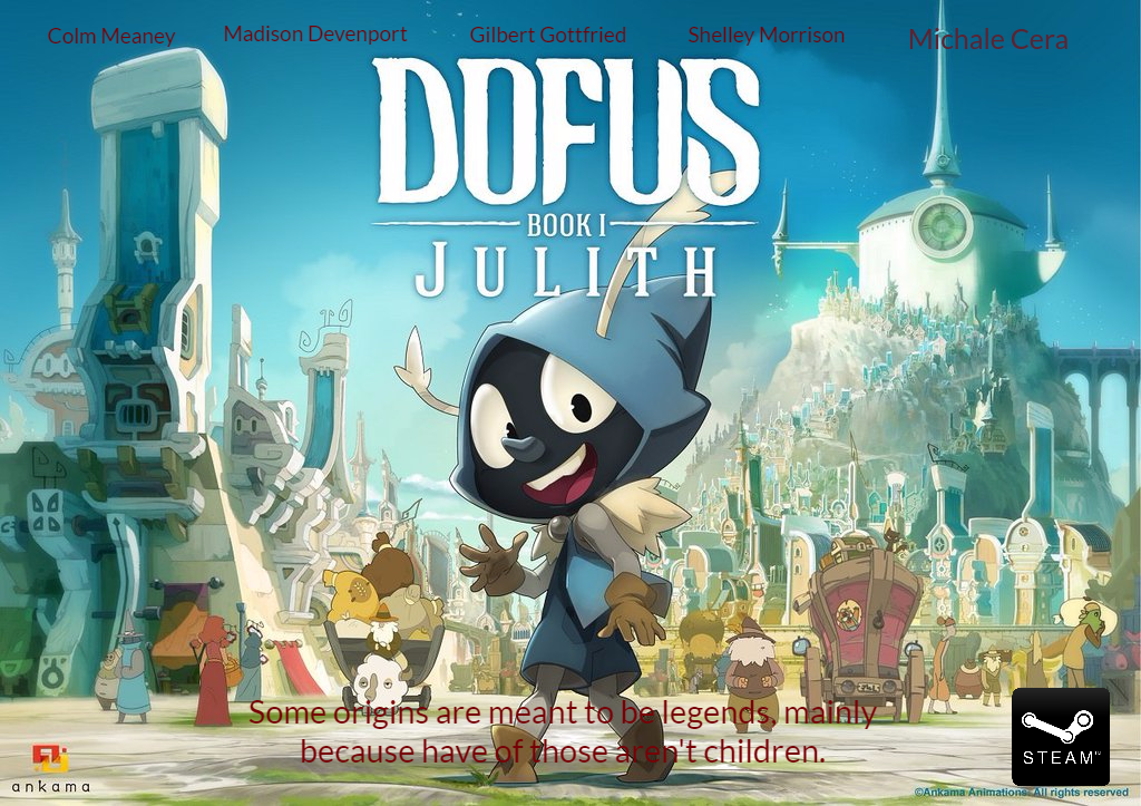Dofus Book 1 Julith Na Ad By Tommypezmaster On Deviantart