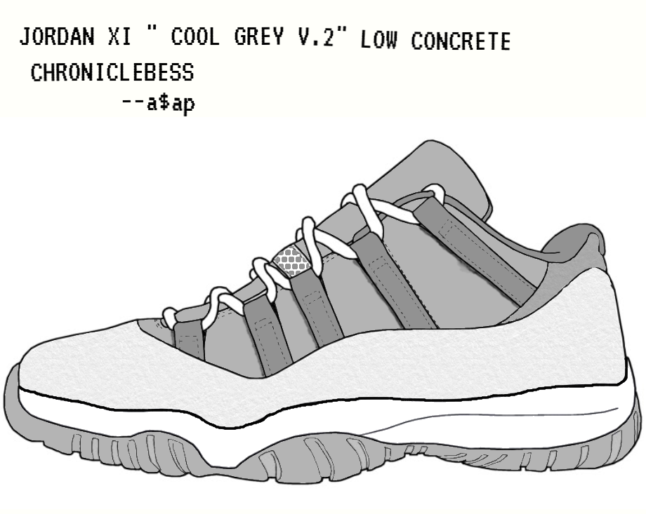 Comment Dessiner Jordan Air 11 Bas