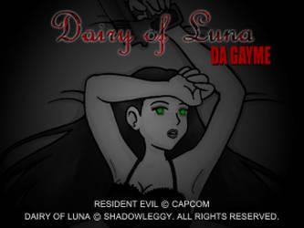 Dairy of Luna - Da Gayme DEMON! by AliTheZombie13