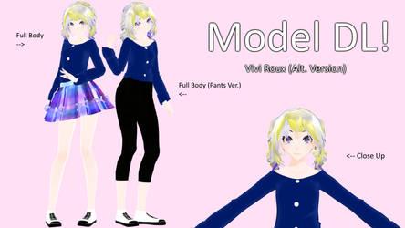 [MMD Model DL!] Vivi Roux (Alt. Version)