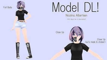 [MMD Model DL!] Nicolina