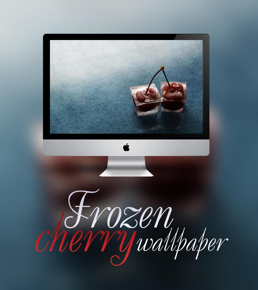 Frozen cherry by xhoOp
