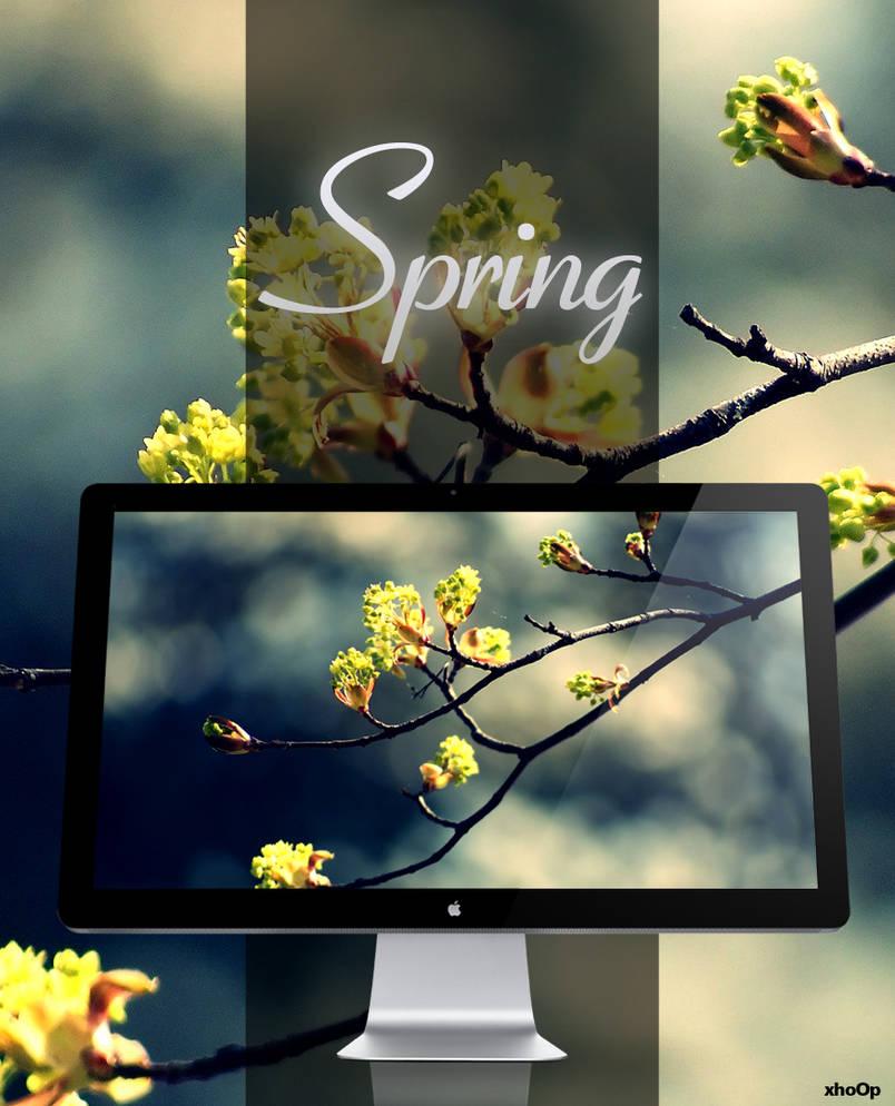 Spring wallpaper by xhoOp