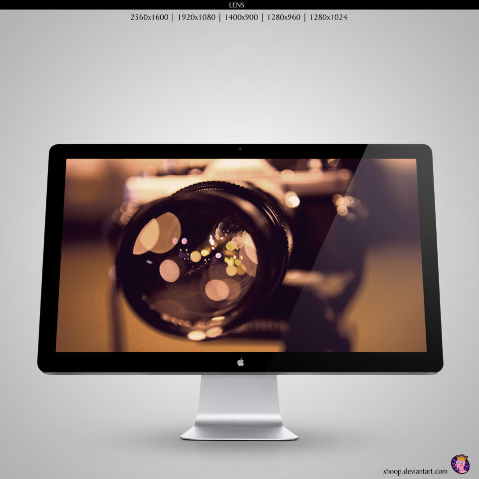 Lens wallpaper by xhoOp