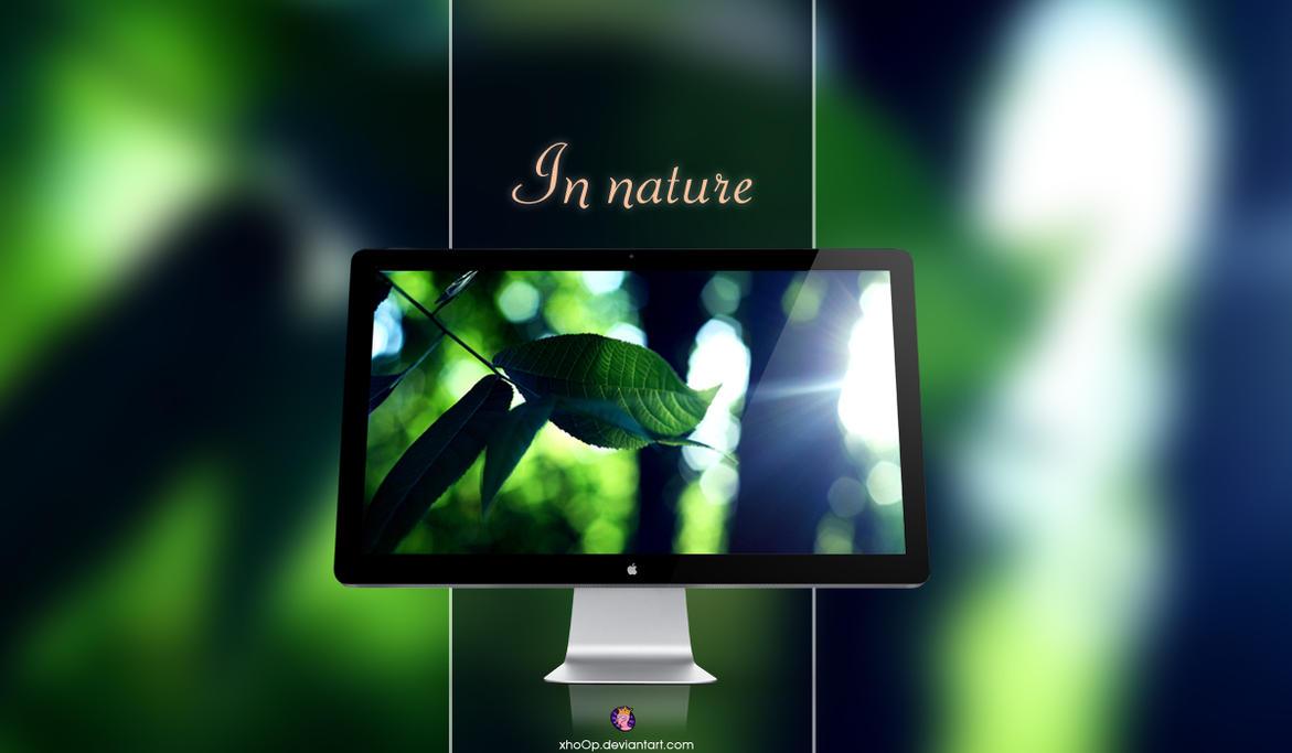 In nature Wallpaper by xhoOp