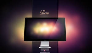 Glow wallpaper by xhoOp