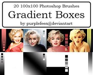20 100x100 Gradient Brushes
