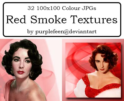32 100x100 Red Smoke Textures by purplefeen by purplefeen