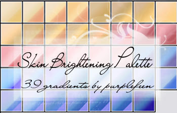 Gradients 003: Skin Brightener by purplefeen