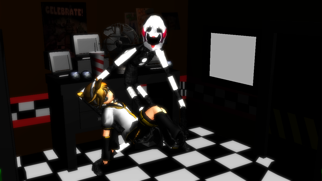 Mmd fnaf updated the puppet v2 dl at right by scp 811hatena on