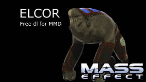 (MMD Newcomer) Mass Effect Elcor