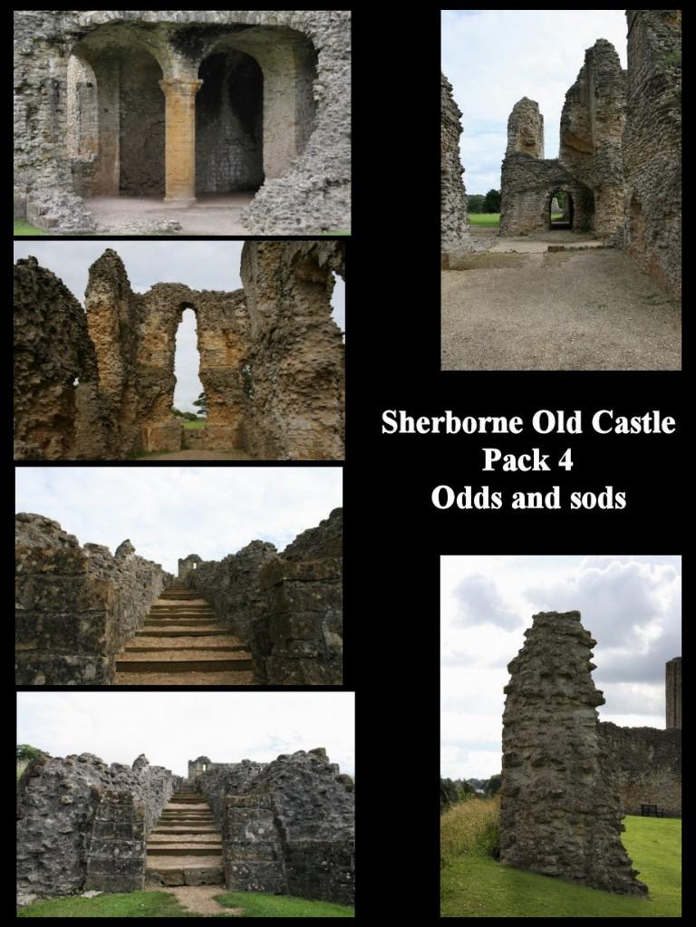Sherborne Old Castle Pack 4
