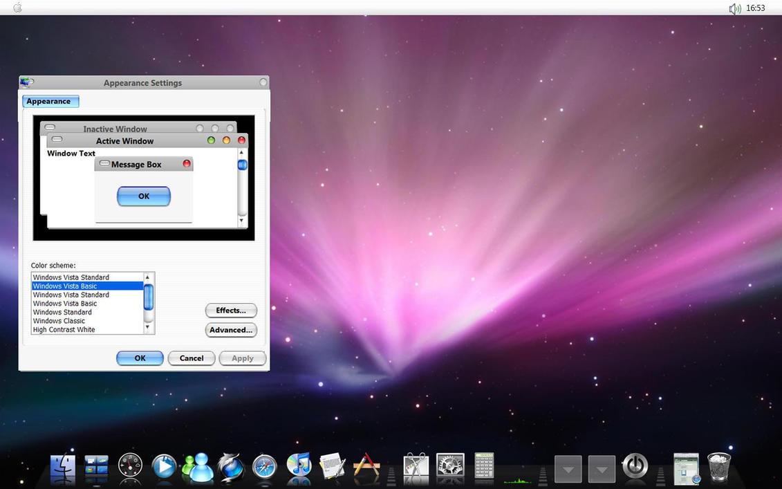 Vista OS X Theme by NeshTheDeviant