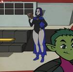 Raven Hourglass Animation MP4