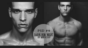 Psd Coloring #9 Dark For Night by mnykskr