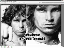 Making of Jim Morrison by artcova