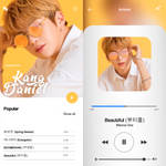 template#18 kang daniel player by avgust