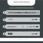 resource#9 status bar insp iphone by kkumttori
