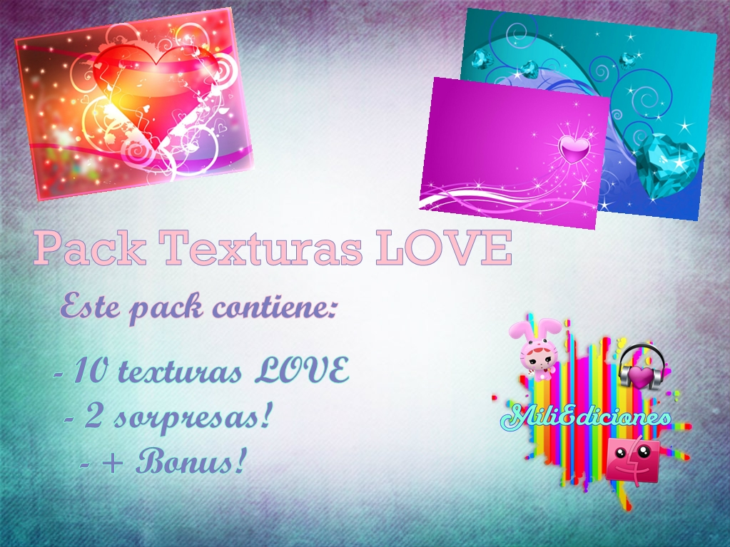 Love Wallpaper Zip Pack : Pack de Texturas LOVE en ZIP by MiiEdiciones on deviantART