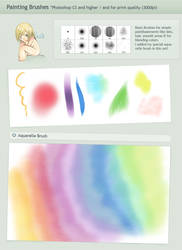Painting Brushes - Highquality by Honeyball-Cookie
