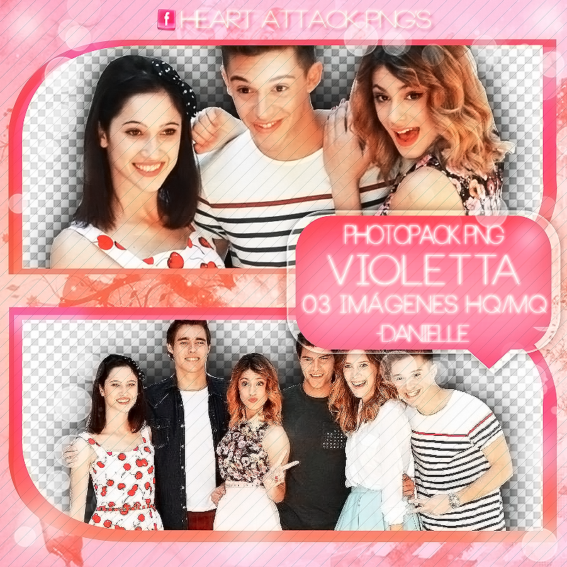 Pack Png De Violetta. by dannyphotopacks