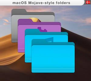 macOS-mojave style-folders